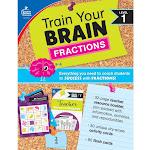 Carson Dellosa Train Your Brain Fractions Level 1 149014