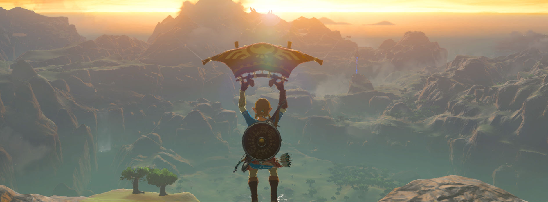 New Zelda: Breath of the Wild patch lets you earn items by using Switch news channels screenshot