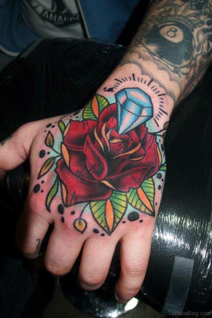 50 Cute Flower Tattoos On Hand