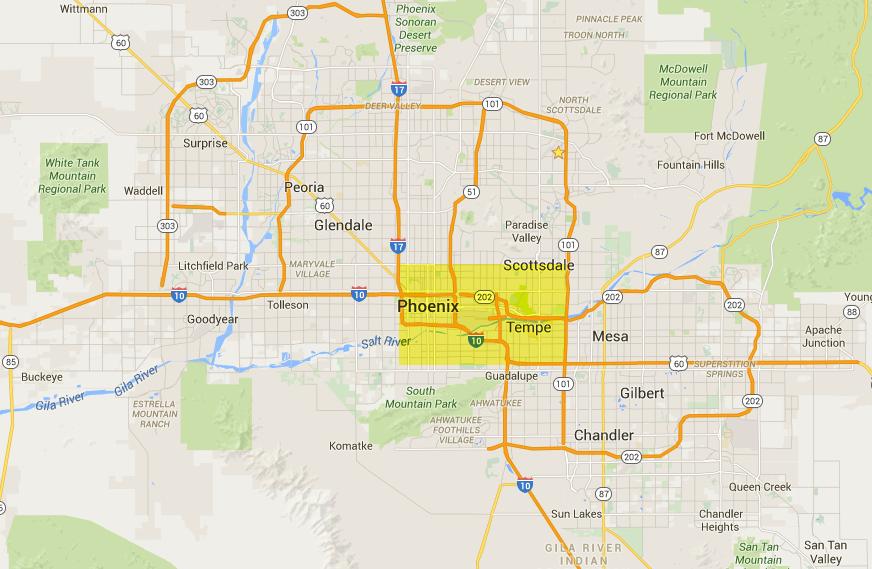 Moving Phoenix Scottsdale Tempe Apartment Complexes