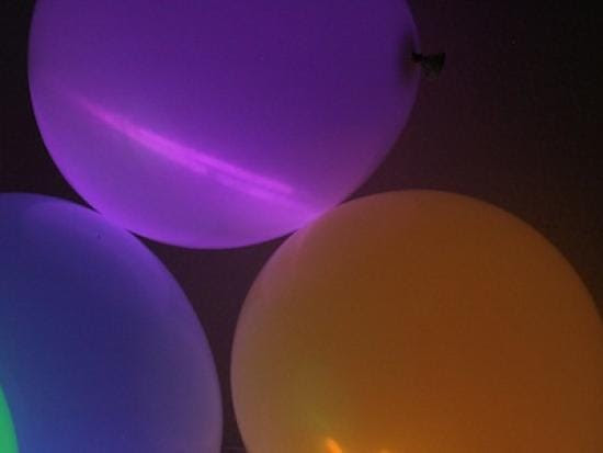 Image result for glow stick balloons