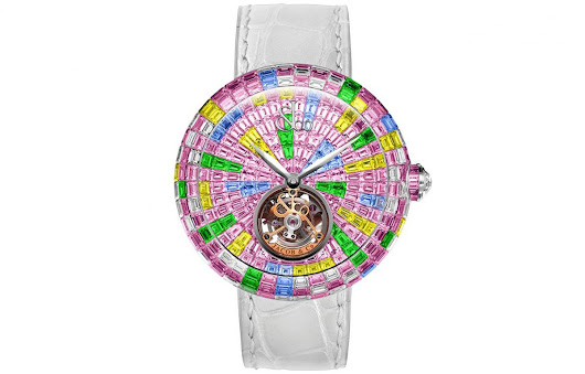 Jacob & Co.'s Brilliant Flying Tourbillon Multicolor Pink - eXtravaganzi