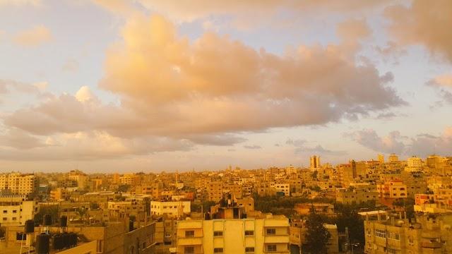 #صور.. تساقط الأمطار على مدينة #غزة 6/11/2016