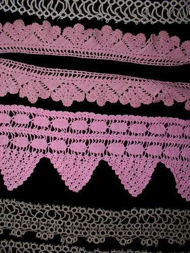 crochet and tatting