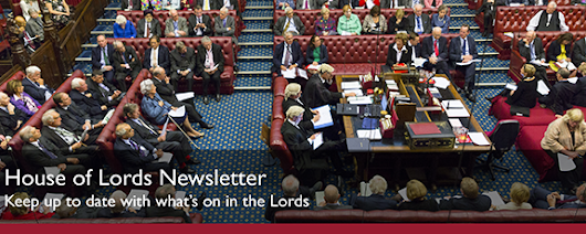 House of Lords Newsletter Sign Up – UK Parliament
