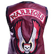 Maroon The Warriors Movie Genuine Leather Vest ►Best Seller Men's Leather Vest◄ at Amazon Men's Clothing store: