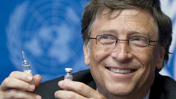 Αποτέλεσμα εικόνας για Bill Gates εμβολια