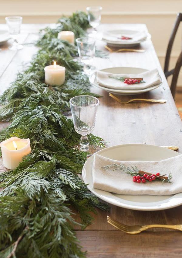 15 Traditional Christmas Table Setting Ideas   Home Design ...