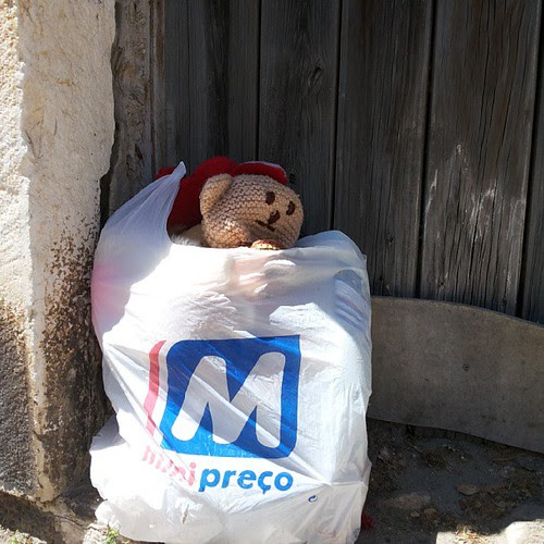#homeless #teddybear #citylandscape #urbanlandscape by Joaquim Lopes