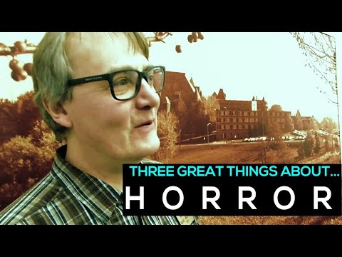 VIDEO: THREE GREAT THINGS ABOUT HORROR with Michael A. Arnzen