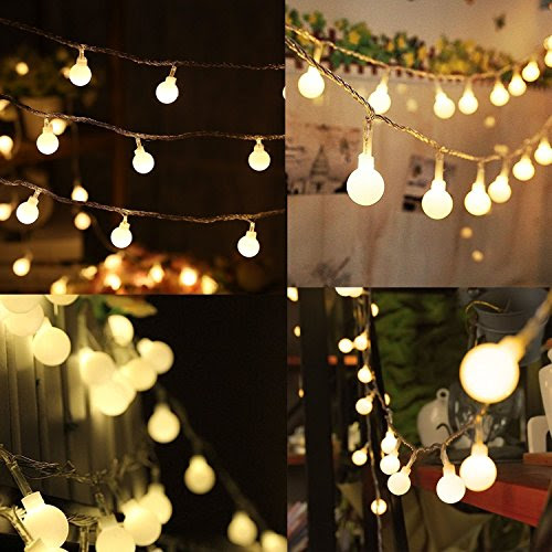 Review for Warm White String Light 100 Pcs 33 Feet Fairy Long String Hanging Led Bulb Starr... - Anita Truckenmiller - Blog Booster