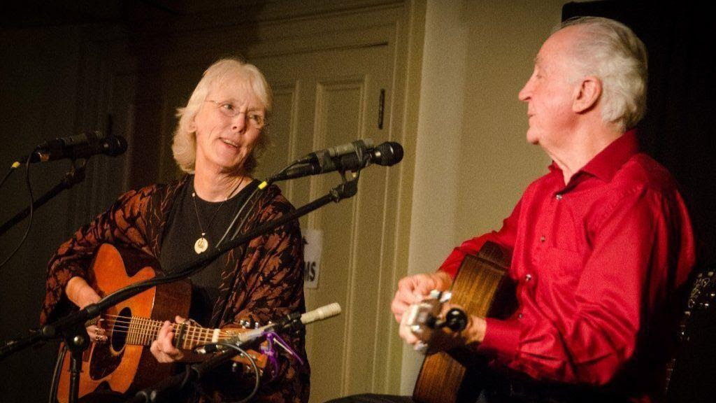 Image result for Folk duo to perform sad, funny tunes in Grayslake