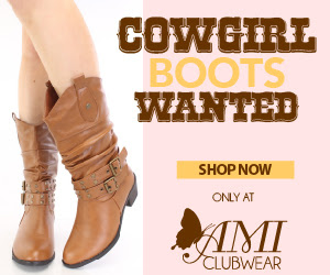 Shop AMIclubwear.com for great deals on fashionable cowgirl boots!