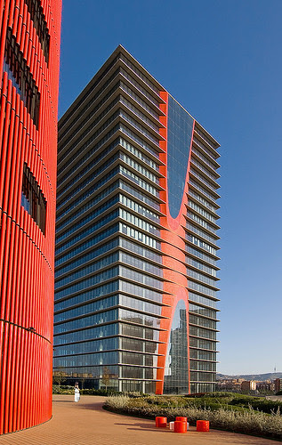 Porta Fira Towers, Barcelona, Spain