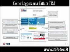 Come Leggere una Fattura TIM Rete Fissa TeleTec.it