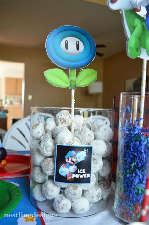 Kara's Party Ideas » Super Mario Birthday Party via Kara?s