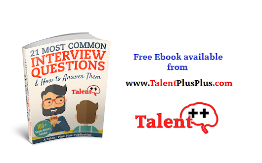 FREE eBook: 21 Most Common Interview Questions & How to Answer Them (With 100+ Sample Answers)