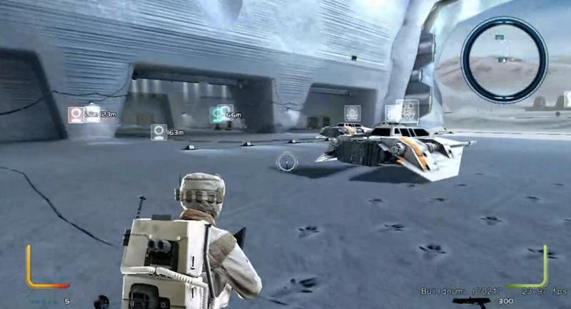 Filtran un prototipo jugable del míticoStar Wars Battlefront III, cancelado en 2008