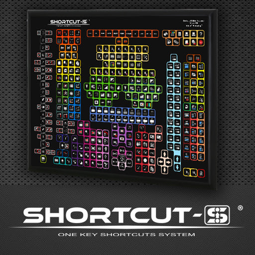 SHORTCUT-S keyboard for graphics/video software