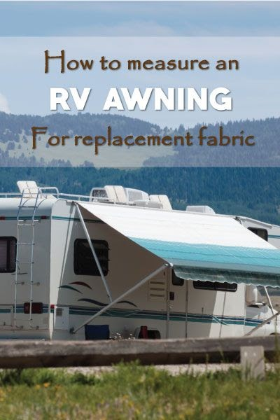 Dometic Awning Fabric Replacement Instructions - HOME DECOR
