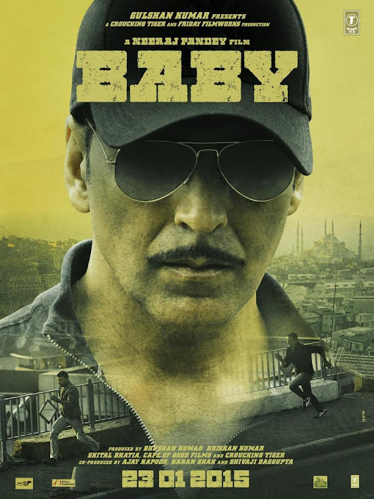 BABY 2015 Movie Trailer : Akshay Kumar's new movie BABY official Trailer