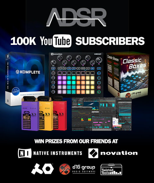 ADSR 100K Subscribers to Youtube Contest