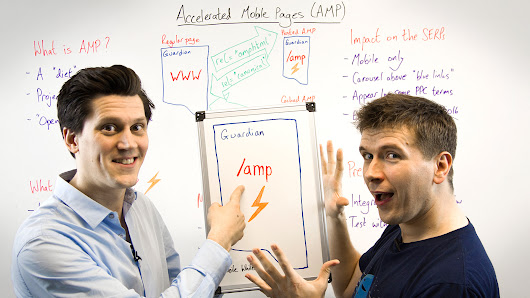 What You Need to Know About Accelerated Mobile Pages (AMPs) - Whiteboard Friday