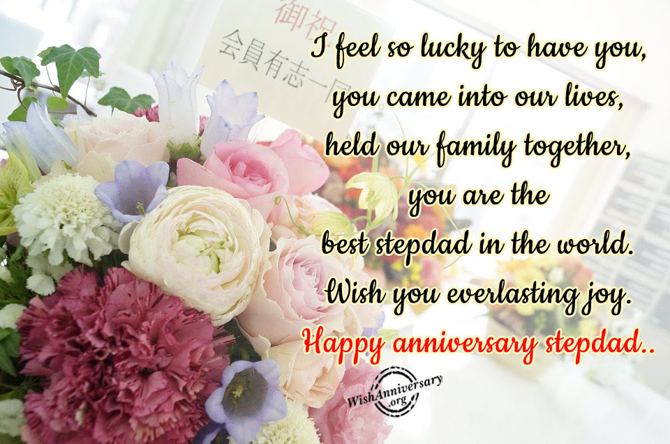 Anniversary Wishes For Step Father Pictures Images
