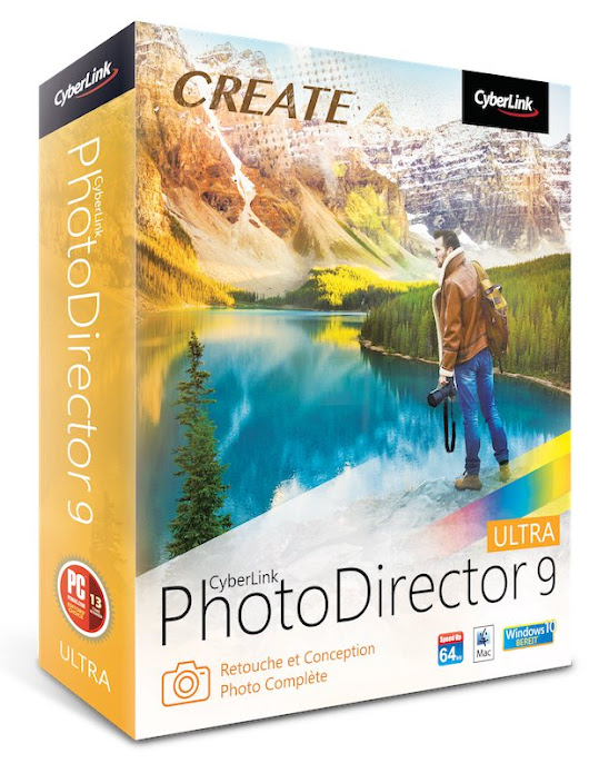 PhotoDirector 9 est disponible - Cachem