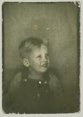 Boy in photobooth