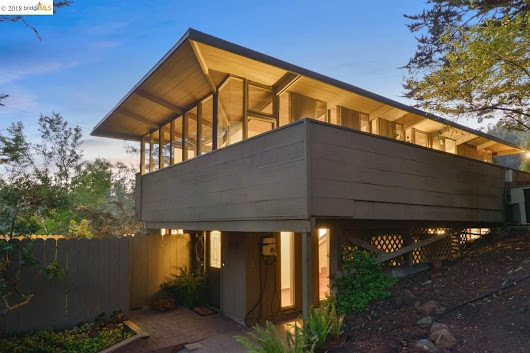 Oakland home designed by Frank Lloyd Wright apprentice asks less than $1 million - SFGate