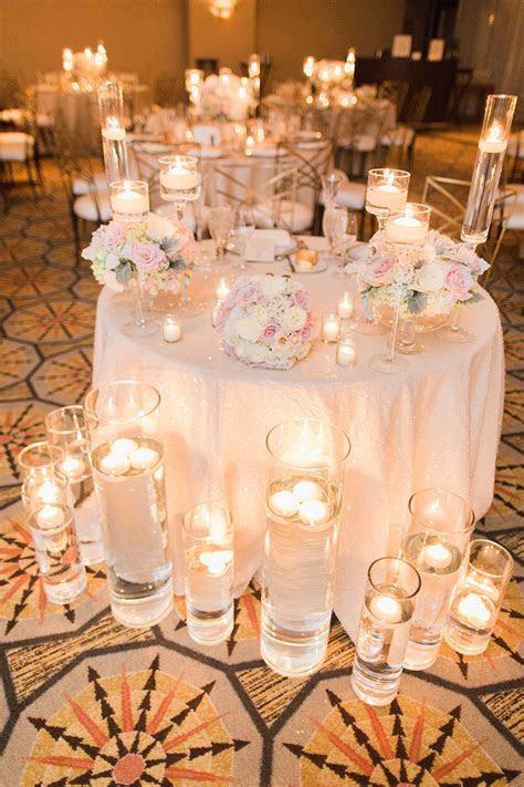 Elegant Blush and Ivory Wedding   Wedding Lighting Ideas