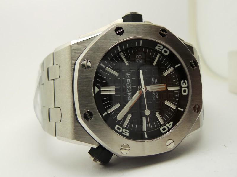 Audemars Piguet Diver Steel Watch Replica 2