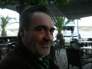 Ο πρόεδρος  του αλιευτικού Συλλόγου Αστακού, Χρήστος Κουνάβης