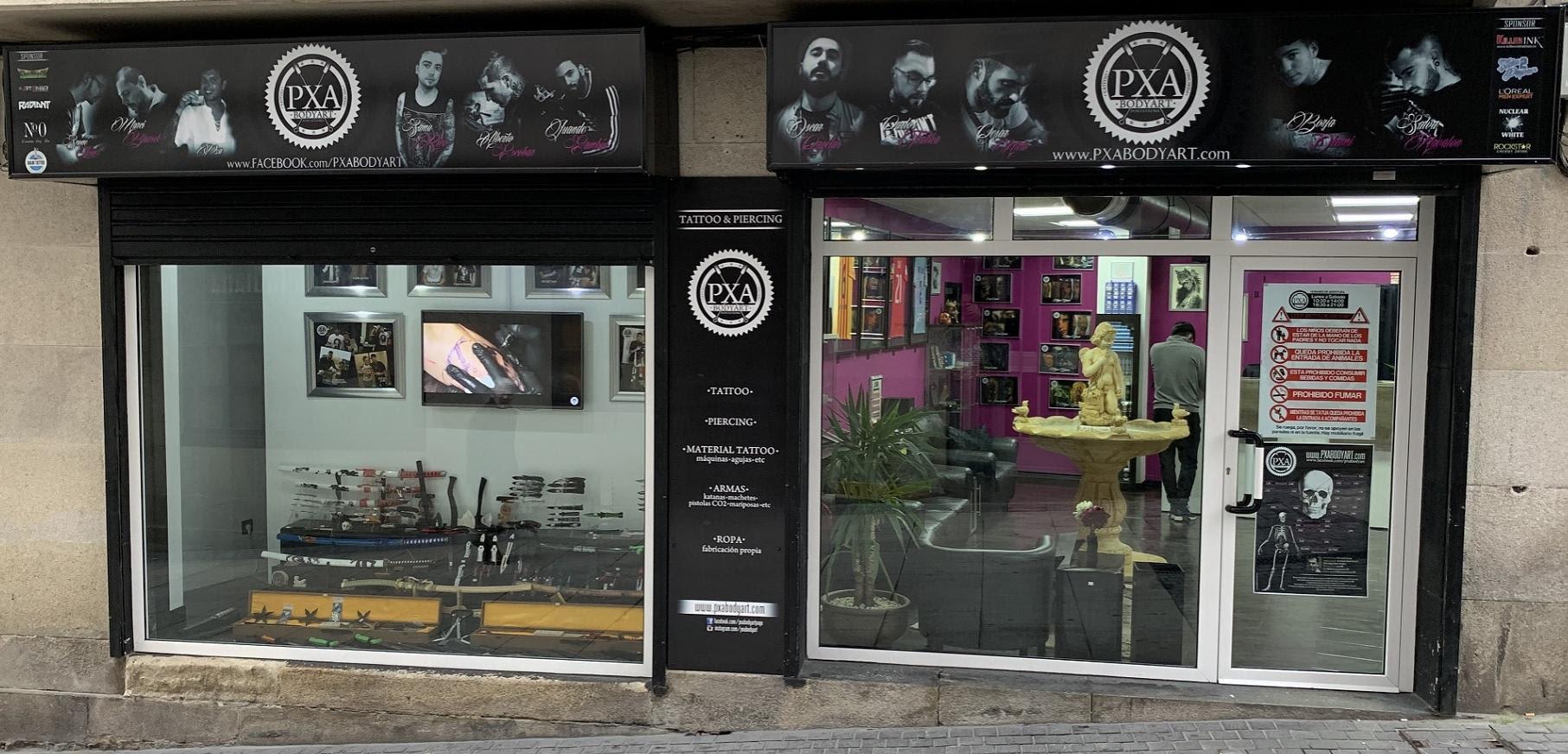Pxa Body Art Estudio De Tatuajes En Pontevedra Galicia