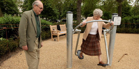 Playgrounds For Seniors Improve Fitness, Reduce Isolation