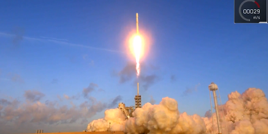 Watch SpaceX land its 10th successful rocket after launching a top secret government satellite into space