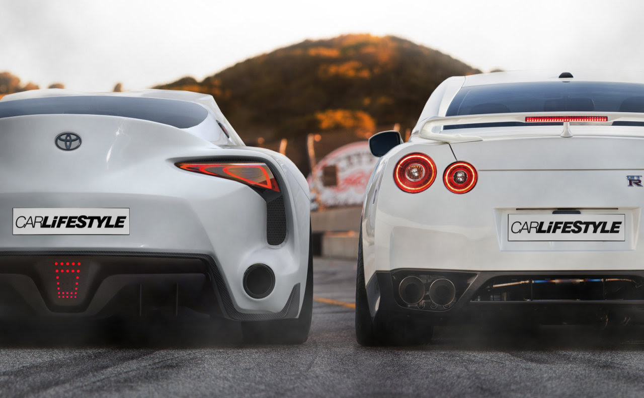 Fueling your passion for the legendary Nissan GT-R — FT1 vs GT-R Via ...
