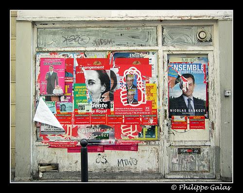 2007 - affiche de Campagne