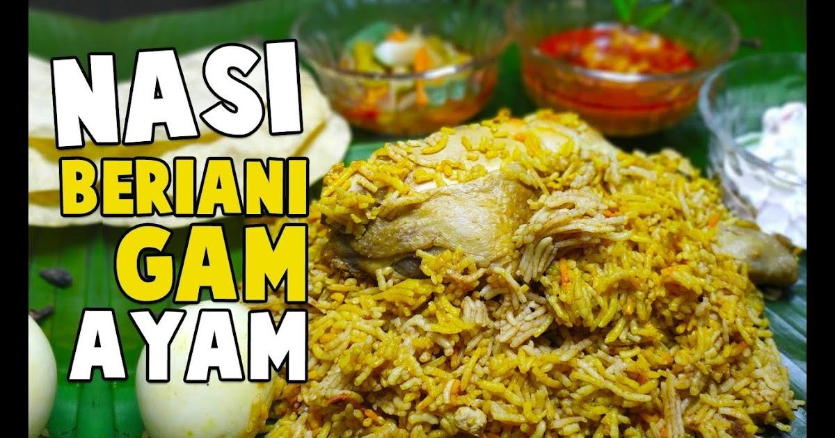 resepi nasi briyani ayam madu nasi ayam paris versi mama pagina inicial facebook Resepi Nasi Beriani Arab Enak dan Mudah