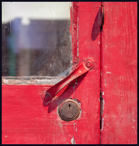 red door by hans van egdom