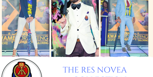 Designer, Kwame Koranteng unveils The Res Novae Collection at the Rock The Runway fashion show.