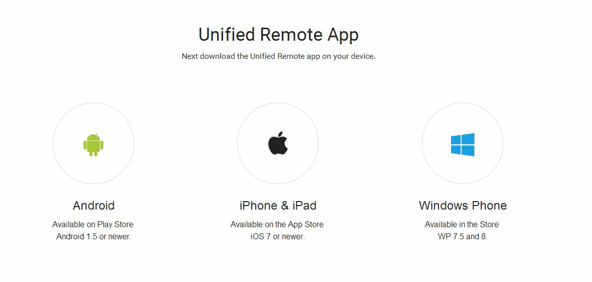 Unified-Remote-App
