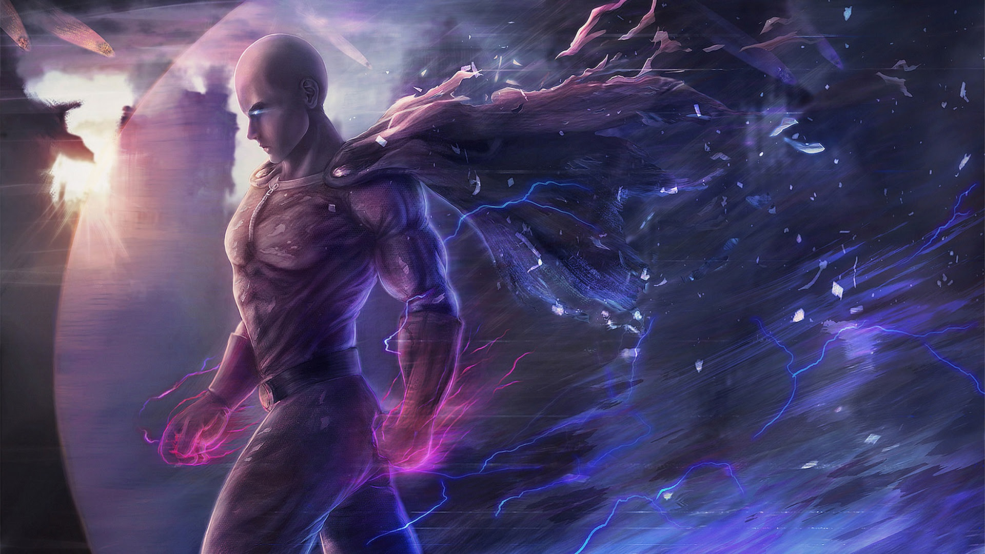 Saitama One Punch Man Artwork, HD Anime, 4k Wallpapers ...