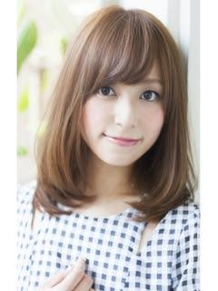 【2016年春版】ロング ブラウンアッシュのヘアスタイル・髪型  - ヘアカラー ブラウンアッシュ