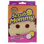 Scrub Daddy Scrub Mommy Dual Sided Sponge, Yellow