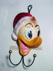 souvenir gypsum ganci donald topi besar