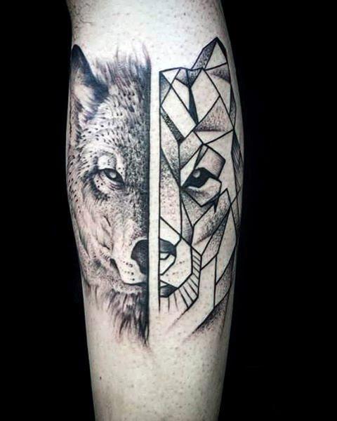 Wolf Tattoo Side Ideas Yo Tattoo