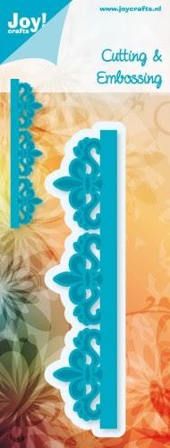 Joy! Crafts - Noor! Design Rand Franse Lelie