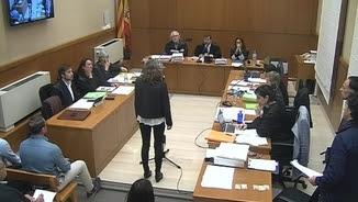 Ester Quintana declara en el judici